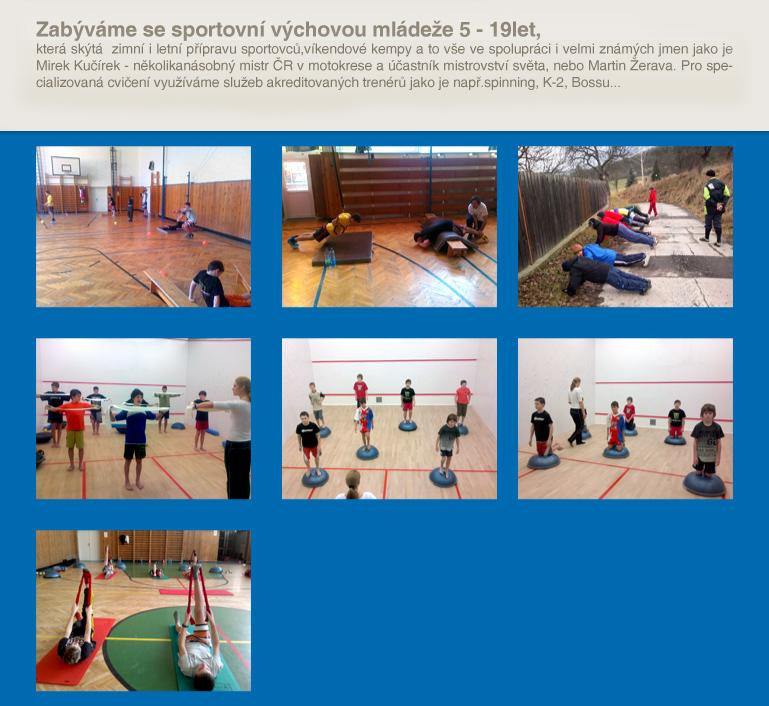 Organizace sportovních akcí
